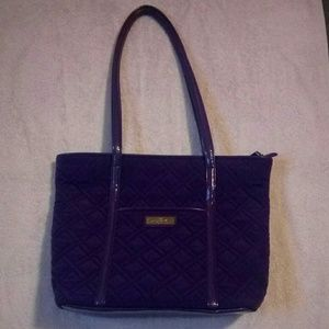 🇯🇲NWOT Purple Vera Bradley Tote Bag